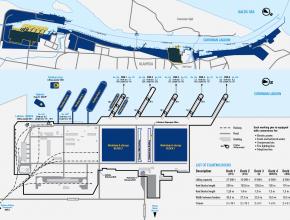 """UAB """"Vakarų laivų remontas"""" teritorijos planas"""
