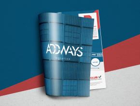 Addways Logistics – įmonę pristatanti brošiūra